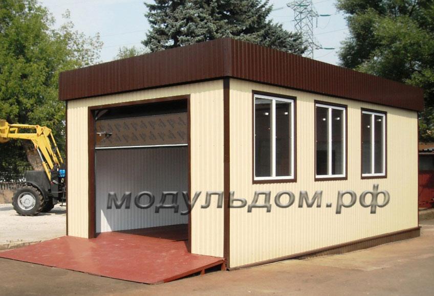 Цена модульного здания мойки составила 490 000 рублей. Данная